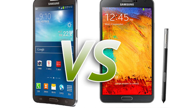 Galaxy Round and Note 3