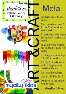 Summer Arts and Crafts Activities For Kids In Bangalore