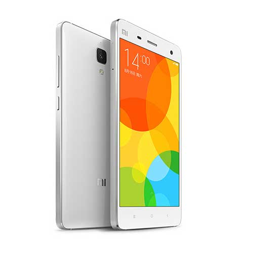 Screen Technology Excels Within the White Xiaomi Mi4