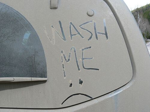 When You Know It Is Time To Wash Your Car
