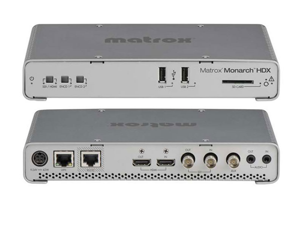 Broadcasting Made Easy With Matrox Monarch HD and Matrox Monarch HDX!