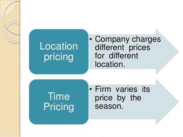 How Pricing Varies by The Type Of Firm?