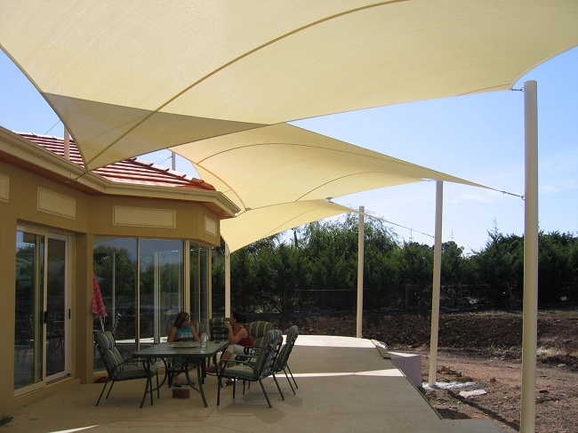 Shade Sails Perfect For The Outdoor