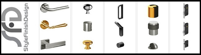 Have An Elegant Home Decor With The Architectural Door Hardware