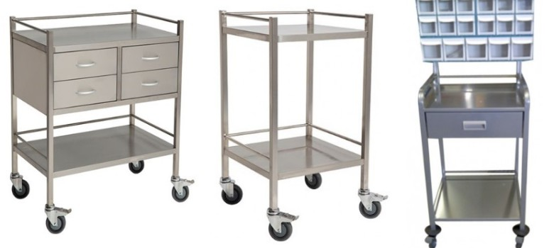 Surgical-Trolley-Stainless-Steel