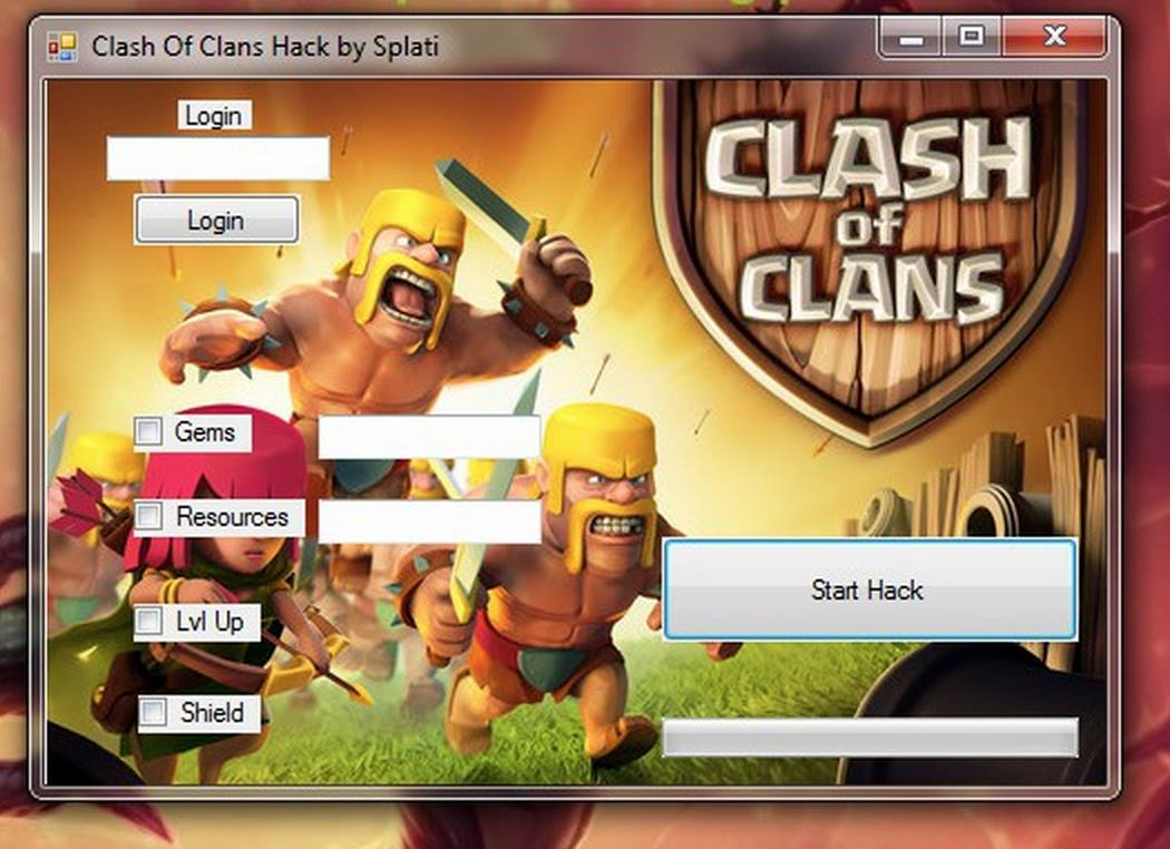 New Version Of Clash Of Clans Hack Tool Generator Gems