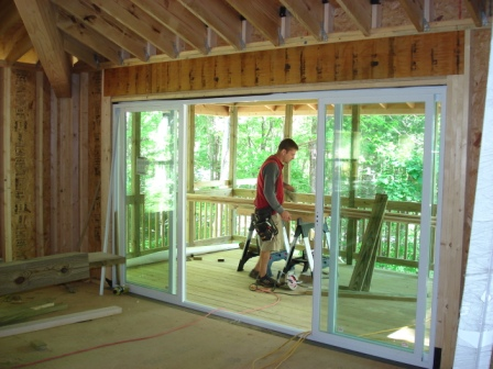 Repairing Patio Door - A Sneak Peek