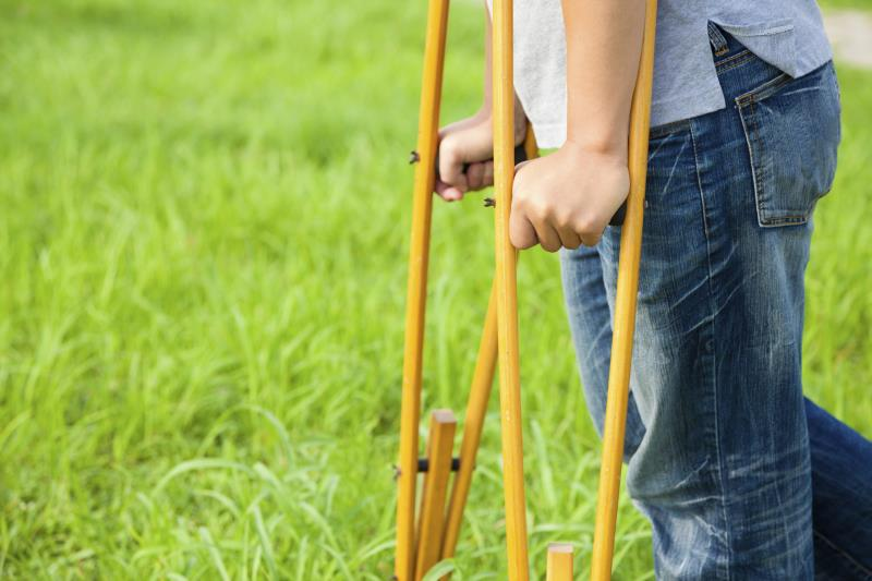 Information On Physical Handicaps And The Importance Of Crutch Tips