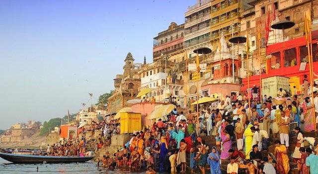 holy city of Varanasi