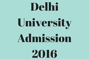 Admission In Delhi University