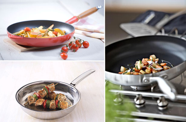 Non Stick Fry Pan Vs Stainless Steel
